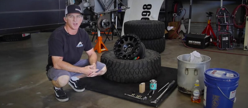How To Install Off Road Beadlock Wheels